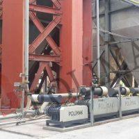 Pnömatik taşıma hammadde transfer hava körükleri