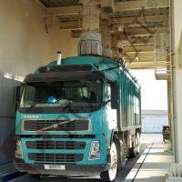 Teleskopik yem kamyonu yükleme körüğü