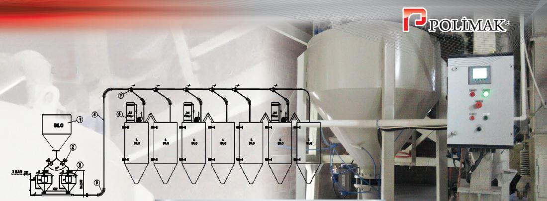 Kalsit taşıma yoğun faz transport dense phase densporter