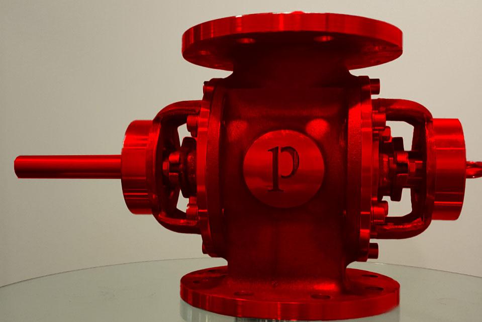 Customer's desired name tag customized rotary valve