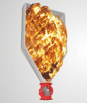 Explosion isolation