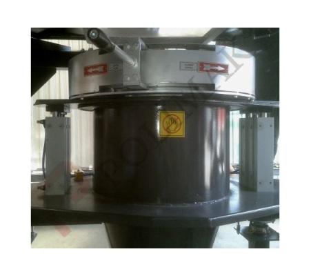 iris valves for bulk bag discharge applications