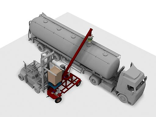 large hopper system