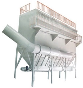 Baghouse filter screw conveyor