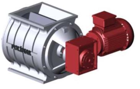 rotary valve rotary airlock rotary feeder