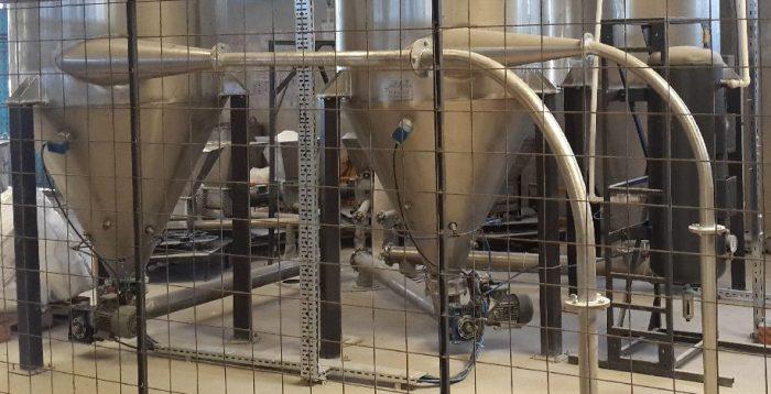 Fliehkraft-Staubabschneider Vakuum Fördersystem
